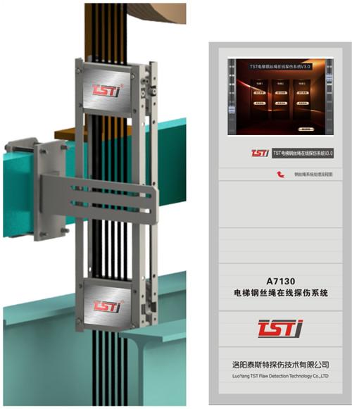 电梯钢丝绳自动探伤系统