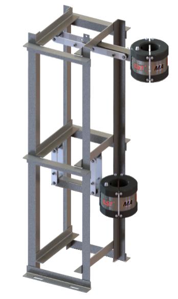 天轮式钢丝绳自动探伤系统