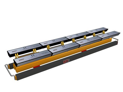 出口型输送带钢绳芯自动探伤仪